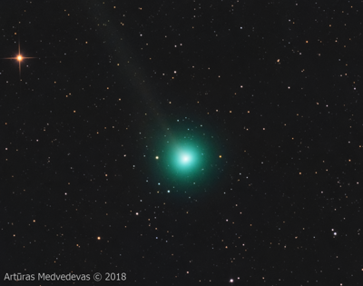 lrytas.lt article about upcoming comet (C/2017 S3 Pan-STARRS)